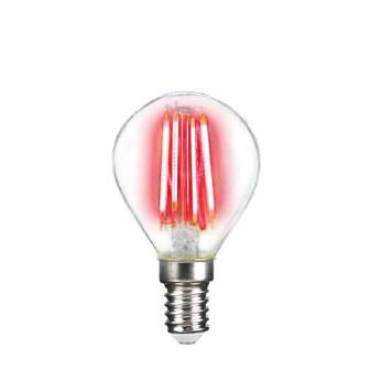 Deco LED Filament P45 4W-E14/Rot