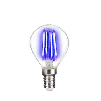 Deco LED Filament P45 4W-E14/Blau