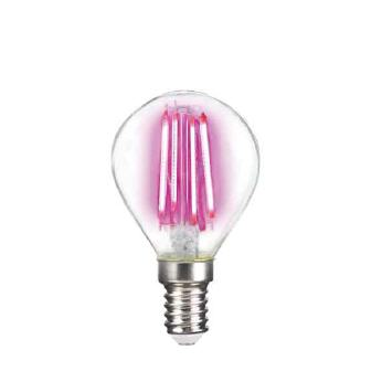 Deco LED Filament P45 4W-E14/Pink