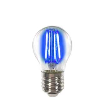 Deco LED Filament P45 4W-E27/Blau