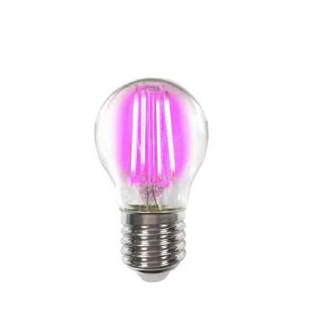 Deco LED Filament P45 4W-E27/Pink