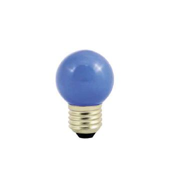 Deco LED 1W-E27/blau IP44